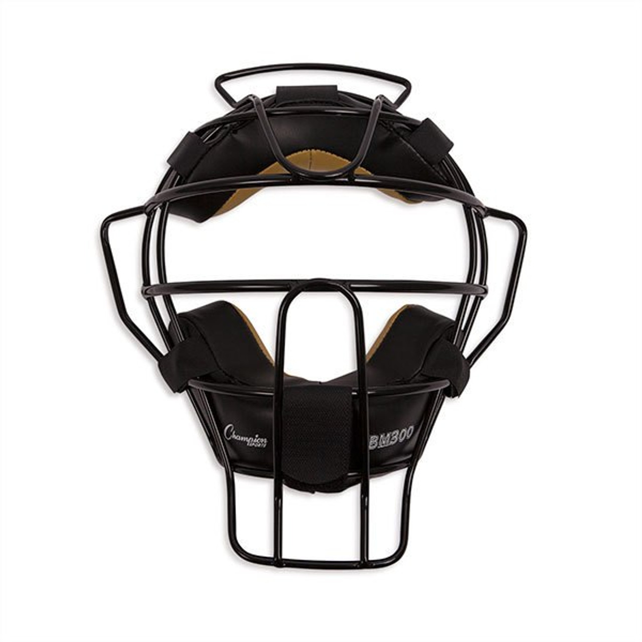 Champion Sports Ultra Lightweight Umpire Mask Black Frame