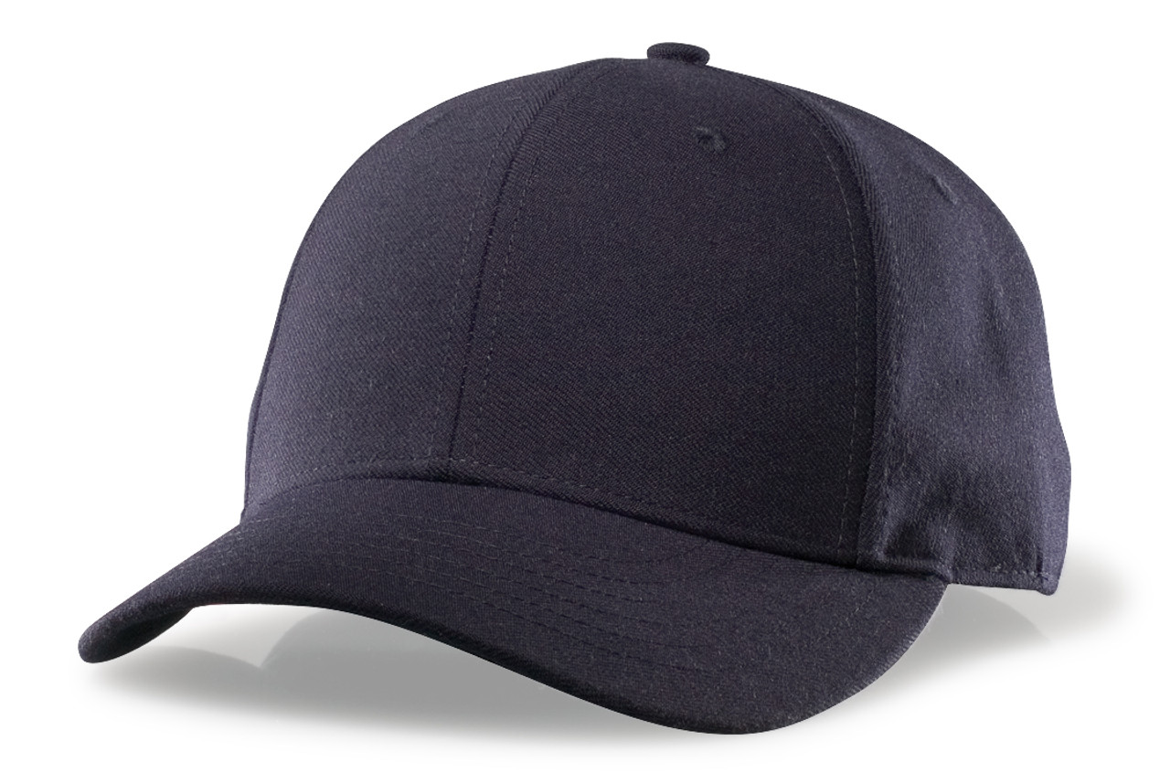 Richardson Adjustable Wool Plate Umpire Cap