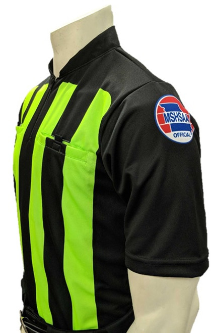 Missouri MSHSAA Short Sleeve Soccer Referee Shirt