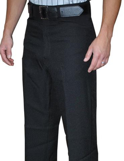 Smitty Flat Front Referee Pants with Beltloops