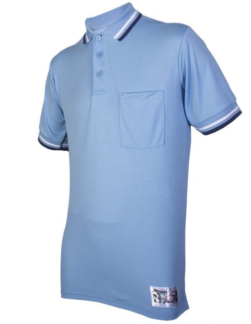 Honigs Powder Umpire Shirt with Navy and White Trim