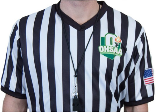 Ohio OHSAA Ultra-Tech Dye Sublimated Basketball Referee Shirt