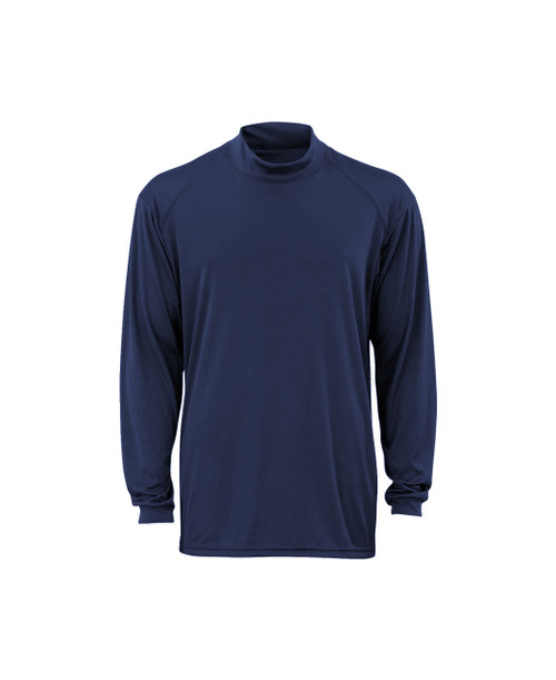 Badger B-Core Mock Shirt Navy