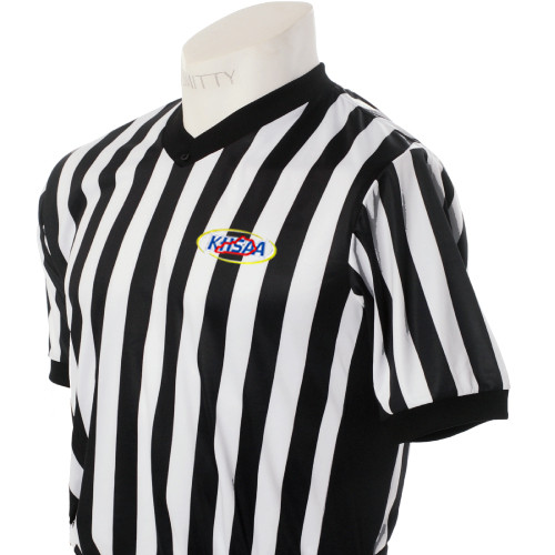 Kentucky KHSAA Embroidered Ultra Mesh Side Panel Referee Shirt