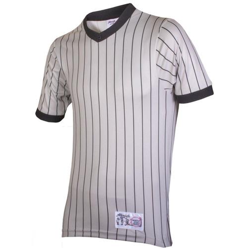 Honig's Gray Pinstripe Referee Shirt
