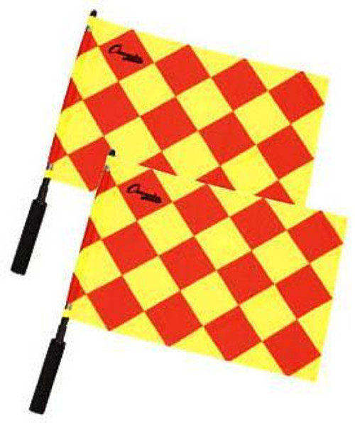 Champion Sports Diamond Pattern Referee Flags