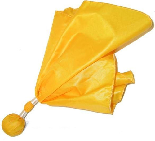Football Referee Double Banded Penalty Flag - Gold Ball