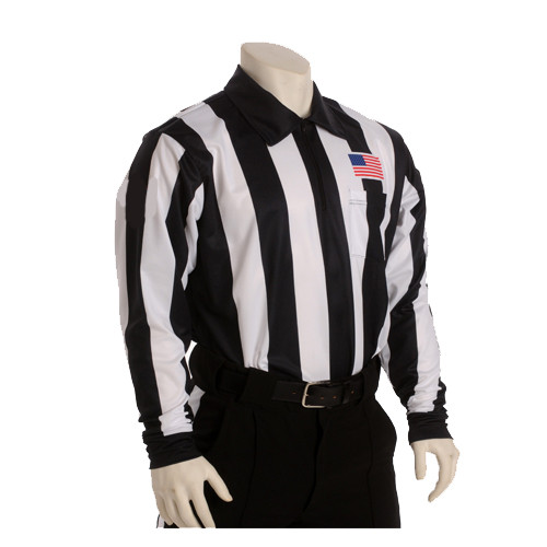 "Smitty 2 1/4"" Long Sleeve Football Referee Shirt"