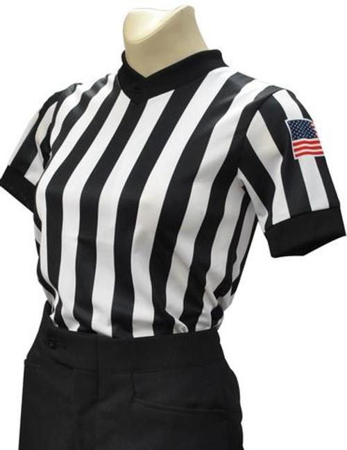 Smitty Women's Dye Sublimated Basketball Referee Shirt