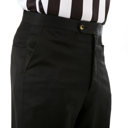 Sansabelt Flat Front Slash Pocket Referee Pants