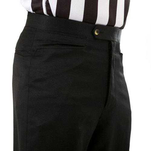 Sansabelt Flat Front Western Pocket Referee Pants