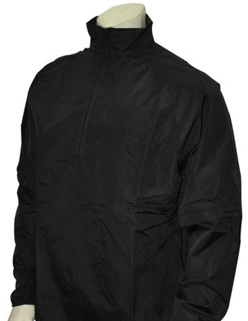 Black Convertible Umpire Jacket