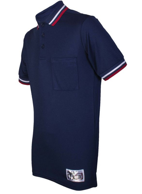 Honig's Navy Umpire Shirt with Red and White Trim