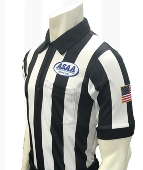 Alaska ASAA Dye Sublimated Football Referee Shirt