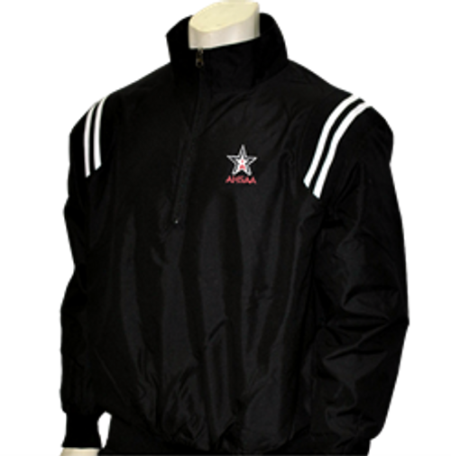Alabama AHSAA Black Umpire Jacket with White Trim