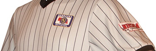 Nebraska NSAA Dye Sublimated Wrestling Referee Shirt