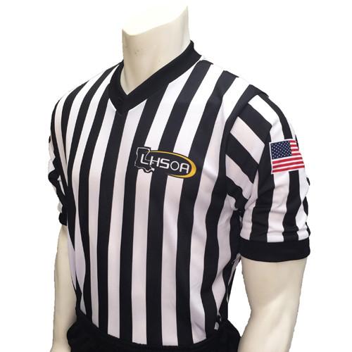 Louisiana LHSOA Dye Sublimated Men's Basketball Referee Shirt