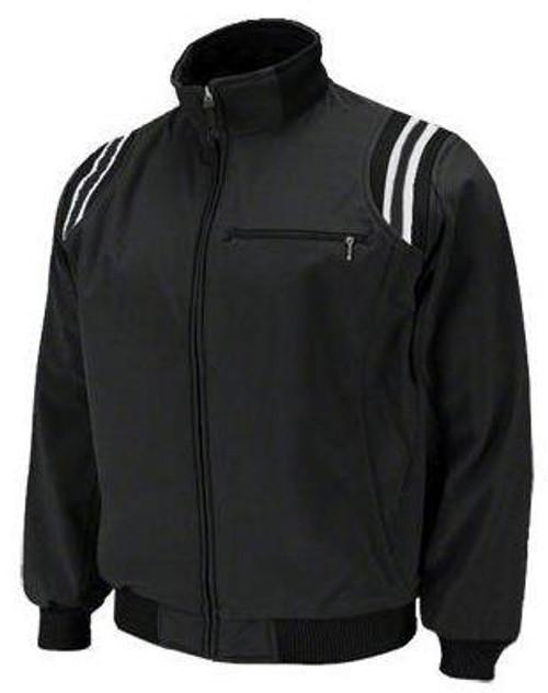 Honig's Therma Base Black Umpire Jacket with White Trim