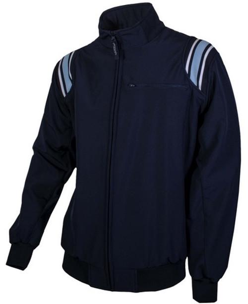 Honig's Therma Base Navy Umpire Jacket with Powder Trim