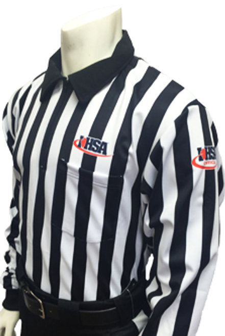 Smitty Illinois IHSA Performance Heavyweight Interlock Referee Shirt