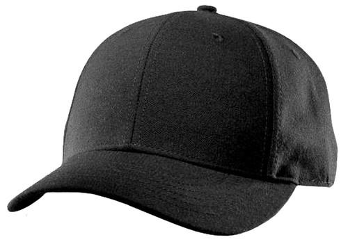 Richardson Black Flex Fit Wool Umpire Plate Cap