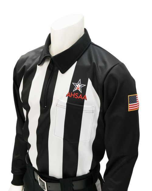 Alabama AHSAA Long Sleeve Football Referee Shirt