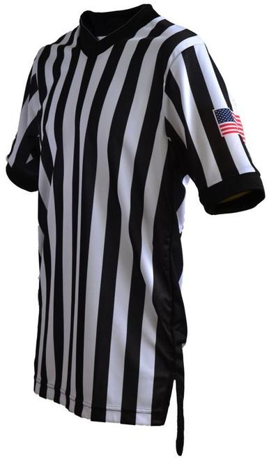 Smitty Dye Sublimated Body Flex Basketball Referee Shirt.