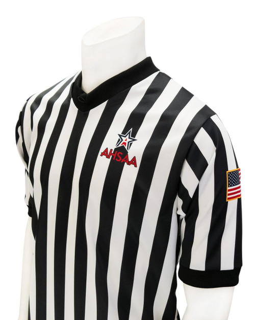 Alabama AHSAA Body Flex® Men's Basketball Referee Shirt