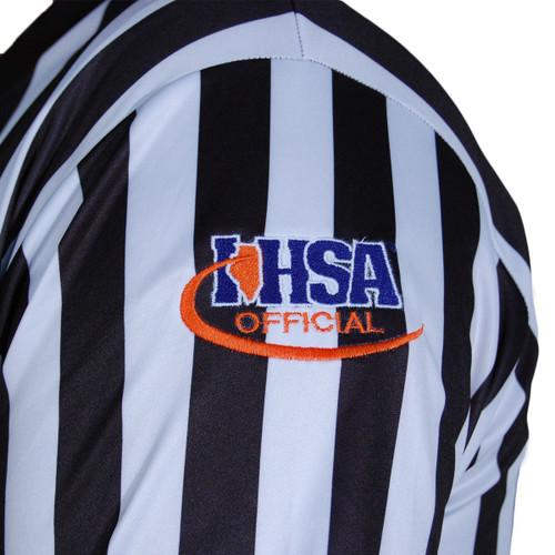 Illinois IHSA Honig's Prosoft Basketball Referee Shirt Extra Tall