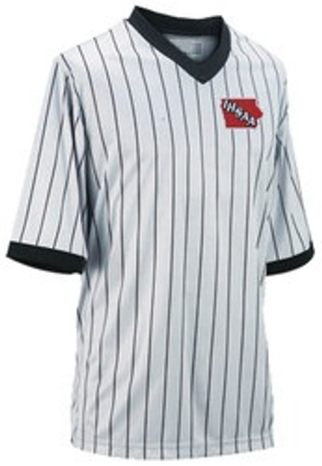 Iowa IHSAA Honig's Prosoft Embroidered Wrestling Referee Shirt