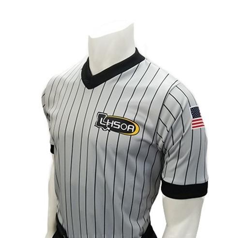 Louisiana LHSOA Dye Sublimated Men's Wrestling Referee Shirt