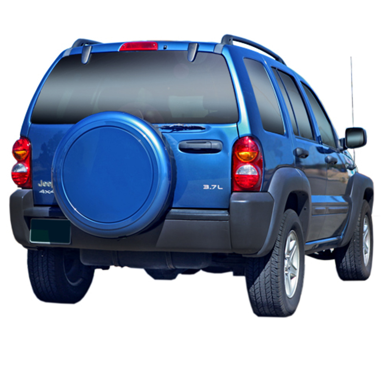 Liberty Jeeps: 2002-2007 Jeep Liberty Color-Matched Rigid Tire Cover By
