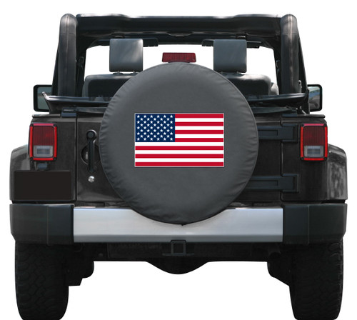 American Flag Colortek Tire Covers By Boomerang Many
