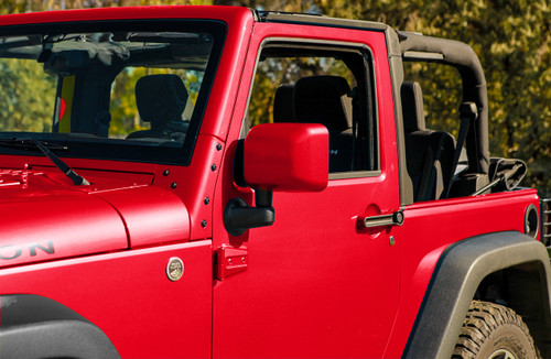 Colorpro Mirror Caps Jeep Wrangler Jk Painted To Match