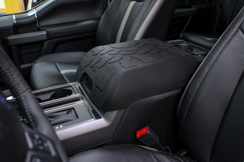 console f150 center ford tread armpad tire lid covers tires leather