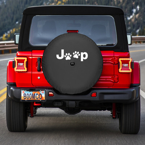 ... Jeep Wrangler JL Spare Tire Cover   Jeep Paws ...