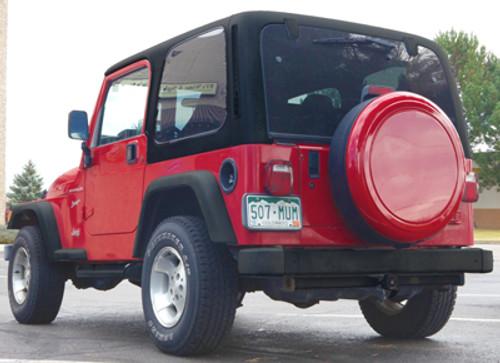 Color Matched Rigid™ Tire Cover   Jeep Wrangler TJ