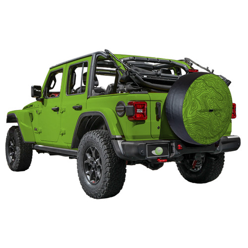 2018 Jeep Wrangler Jl Amp Jlu Color Matched Rigid Tire Cover