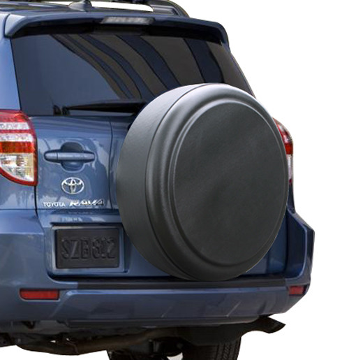rigid tire cover by boomerang fits toyota rav4. Black Bedroom Furniture Sets. Home Design Ideas