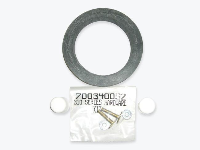 Sealand 310 Toilet Hardware with Seal (White)