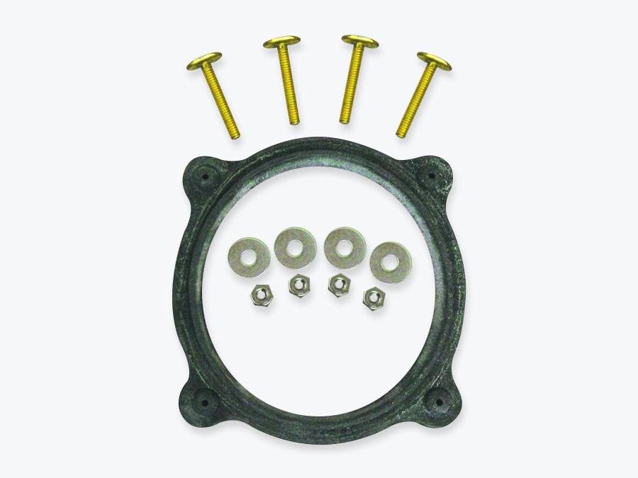 Sealand 385310063 floor flange and mounting hardware kit