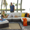 Atlantis Outdoor 5 piece Sectional Set