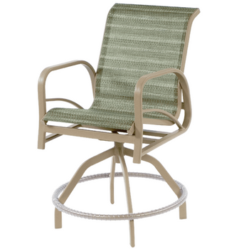 Island Bay Swivel Balcony Chair