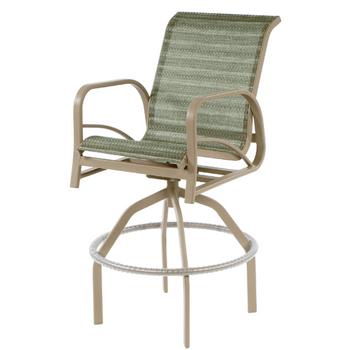 Island Bay Swivel Bar Chair