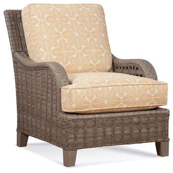 Lake Geneva Lounge Chair in Driftwood finish