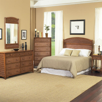 Monte Carlo 4 PC Queen Bedroom Set