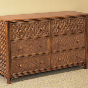 Monte Carlo 6 Drawer Double Dresser