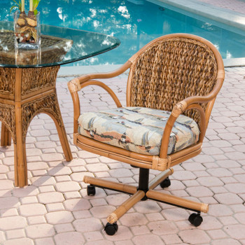 Panama Swivel Caster Chair