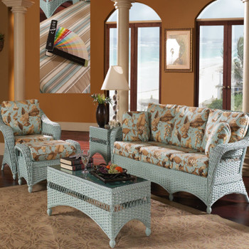 Seaside Retreat Ottoman