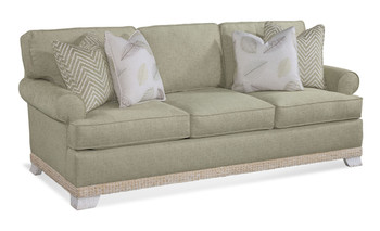 The Fairwind Queen Sleeper Sofa is available in your choice of fabric.